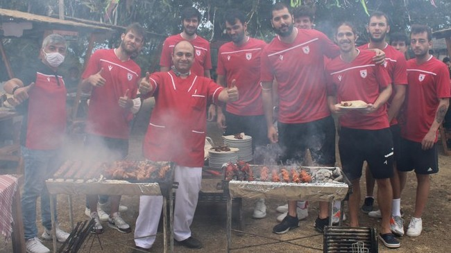Samsunspor'dan Basketbol Barbekü Partisi!